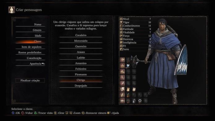 Dark Souls 3: clérigo (Foto: Reprodução/Victor Teixeira)