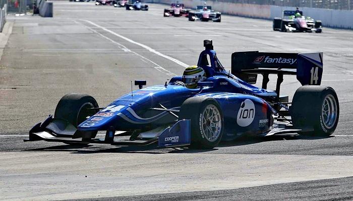 Nelsinho Piquet na Indy Lights