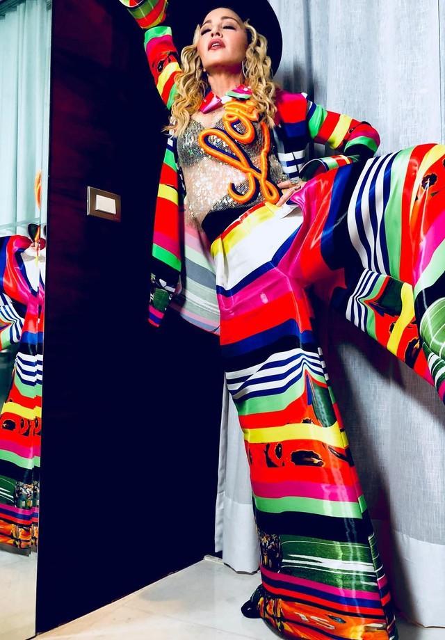 Madonna no Rio de Janeiro (Foto: Reprodução/Instagram)