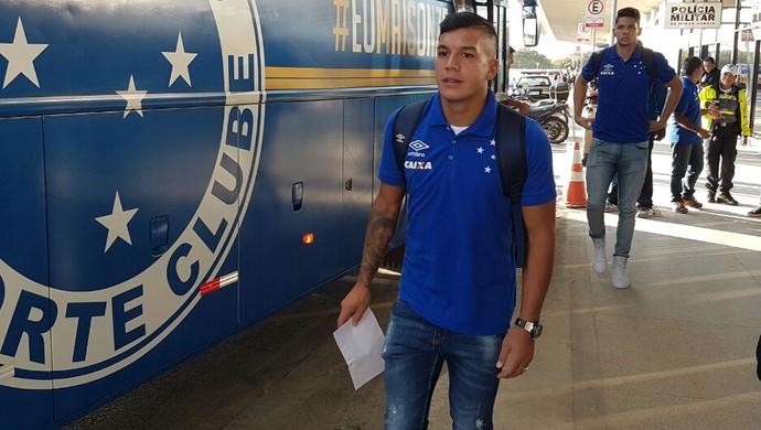 Lucas Romero Cruzeiro (Foto: Divulgação/ Cruzeiro)