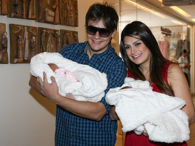 Natalia Guimaraes e Leandro (Foto: Manuela Scarpa /Foto Rio News)