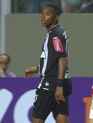 Robinho, do Atlético-MG (Foto: Reprodução / Premiere)