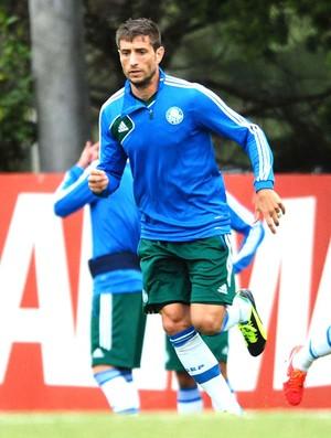 Eguren Marcio Araujo treino Palmeiras (Foto: Marcos Ribolli)