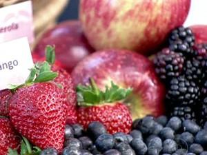 Alimentos antioxidantes (Foto: TV Globo)
