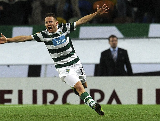 Diego Capel, Athletico bilbao X Sporting (Foto: AFP)
