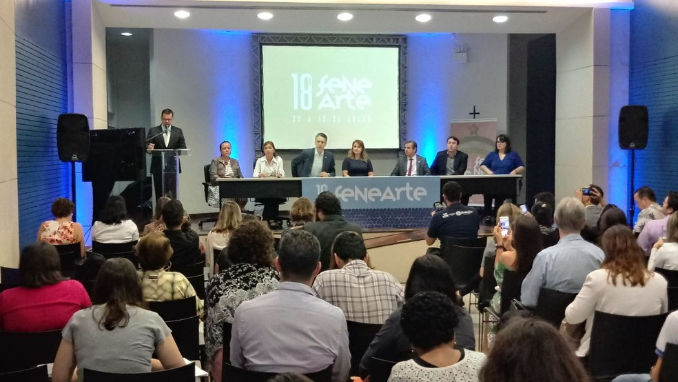 Programação foi divulgada nesta quinta-feira (29), durante uma coletiva de imprensa no Recife (Foto: Danilo Tenório/TV Globo)