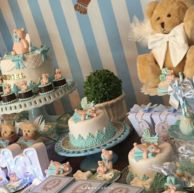 Detalhes da decoração do chá de bebê (Foto: Reprodução/Instagram)