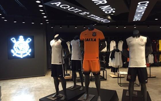 Nova loja da Nike na Arena Corinthians (Foto: Arquivo pessoal)