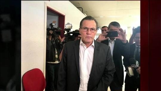 Ex-governador admite que liderou quadrilha que desviou dinheiro público