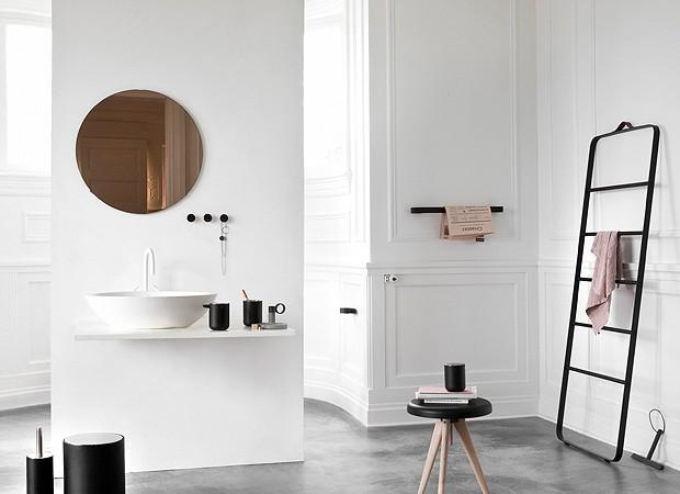Um banheiro no estilo escandinavo (Foto: Jonas Bjerre-Poulsen/Divulgação)