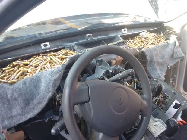 Polícia suspeita que produtos vieram do Paraguai (Foto: Divulgação/ Polícia Rodoviária Avaré)