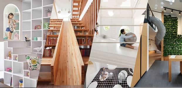 7 ideias surpreendentes de espaços lúdicos para crianças (Foto: Divulgação )