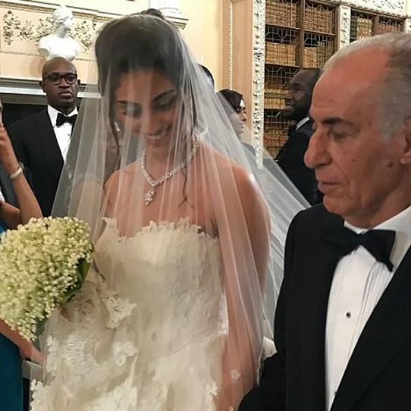 A noiva com o pai (Foto: Reprodução/Instagram)