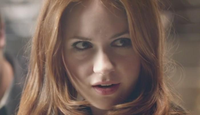 Karen como Amy Pond (Foto: Divulgao)