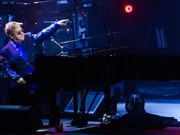 Elton John se apresenta no Rio (Foto: Manuela Scarpa/ Foto Rio News)