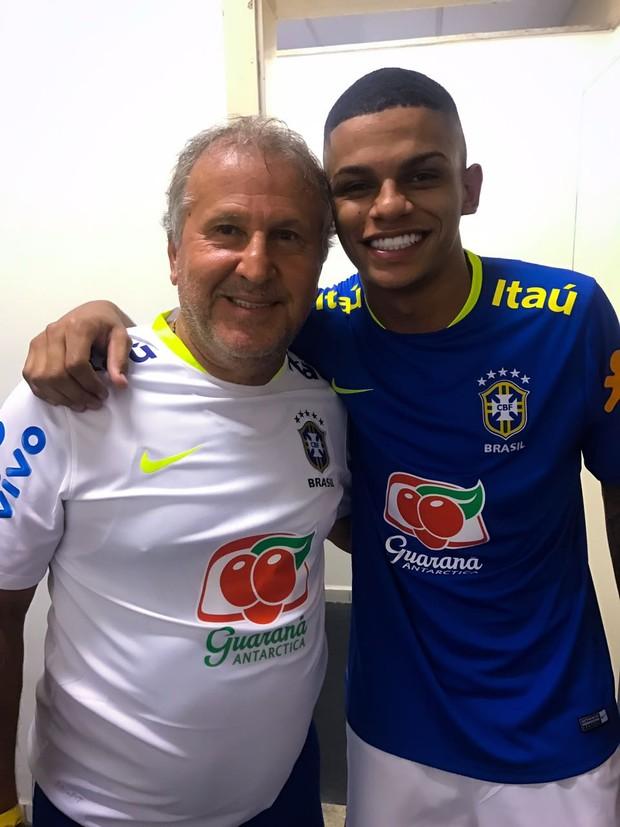 Zico e MC Maneirinho (Foto: Arquivo pessoal)