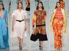 Emanuel Ungaro apresenta coleção coloridíssima e cheia de estampas na semana de moda de Paris