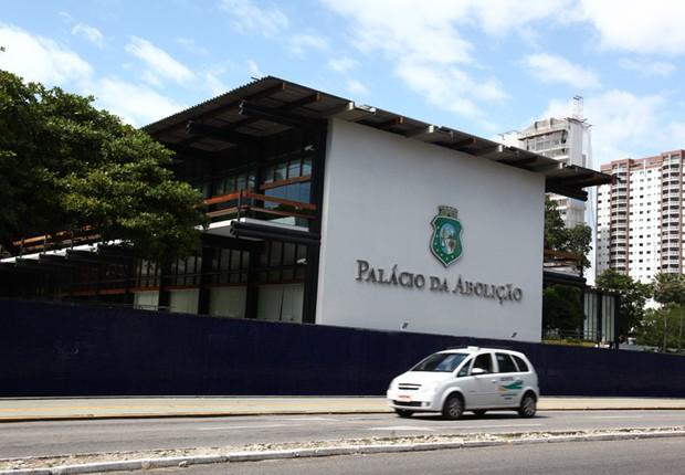 Palácio da Abolição em Fortaleza, sede do governo do Ceará (Foto: Divulgação)