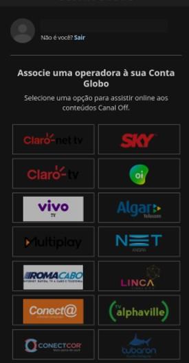 Associação de Operadora - Canais Globo (Foto: Canais Globo)