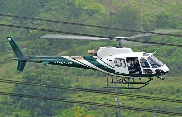 Helicóptero modelo H125, da Airbus. (Foto: Divulgação/Airbus)