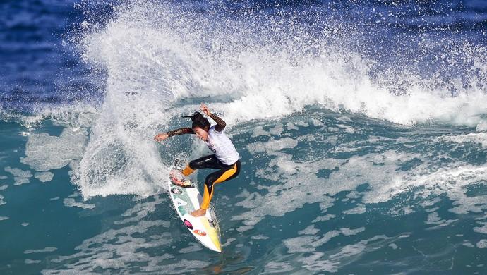 Silvana Lima em Bells Beach (Foto: WSL/Ed Esloane)