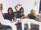Lais Ribeiro e mais angels da Victoria's Secret agitam ruas de Nova York