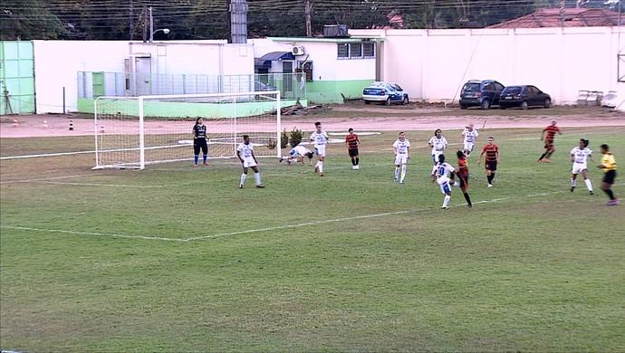 Porto disputou o último jogo do torneio contra o Espigão (Foto: Reprodução/ Rede Amazônica RO)