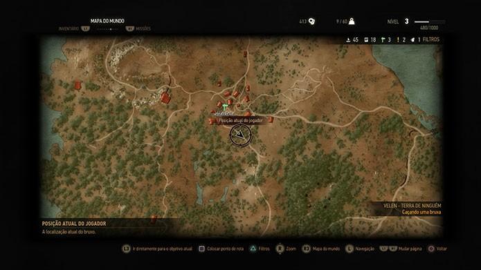 O cenário do game é vasto (Foto: Reprodução/Felipe Vinha)