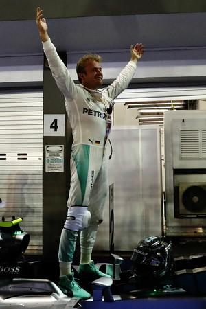 Rosberg venceu a terceira seguida na temporada (Foto: Getty Images)