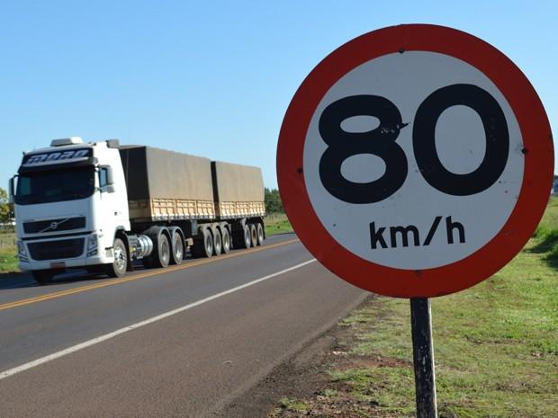 BR-163 é a principal via do transporte rodoviário em Mato Grosso do Sul (Foto: Anderson Viegas/Do Agrodebate)