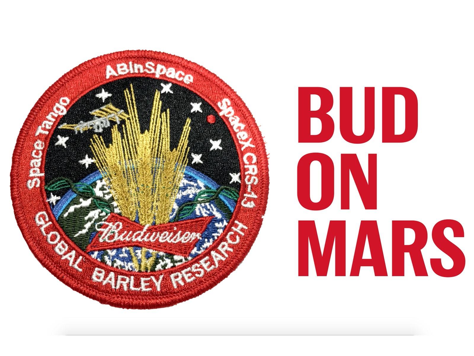 Emblema da missão espacial cervejeira (Foto: Divulgação)