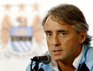 Roberto Mancini técnico Manchester City (Foto: AP)