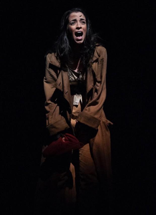Laura Lobo vive Eponine no musical 'Les Misérables' (Foto: Reprodução/Instagram)