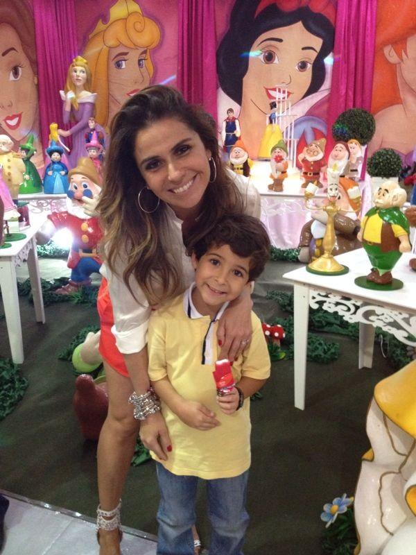Giovanna Antonelli e Luiz Felipe Mello (Foto: Dilson Silva/Agnews)