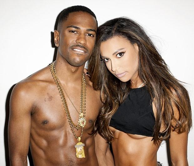 Big Sean e Naya Rivera (Foto: Reprodução)