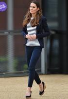 Look do dia: com visual casual, Kate Middleton mostra ótima forma