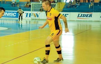 Taubaté Futsal contrata ala campeão mundial pelo Sorocaba e fecha elenco