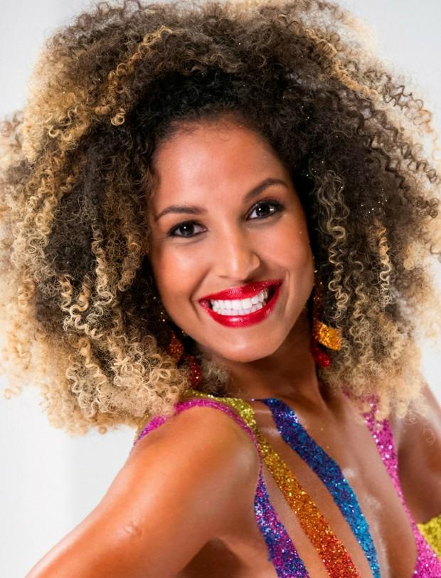 Érika Moura, a Globeleza (Foto: Globo)