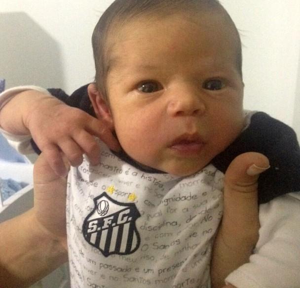 José Pedro, filho de Nina Barbosa (Foto: Arquivo Pessoal)