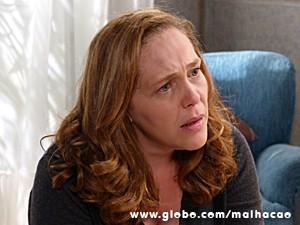 Vera fica muito triste com Sofia (Foto: Malhação / TV Globo)