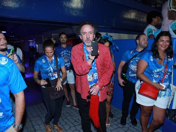 Tim Burton (Foto: Marcello Sá Barretto / AgNews)