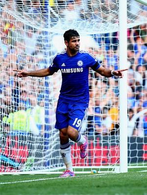 Diego Costa chelsea gol Swansea City  (Foto: Agência Getty Images)