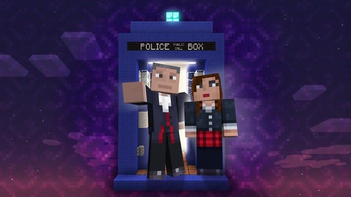 Minecraft Xbox 360 Edition receberá seis novos pacotes de skins do Doctor Who (Foto: Divulgação)