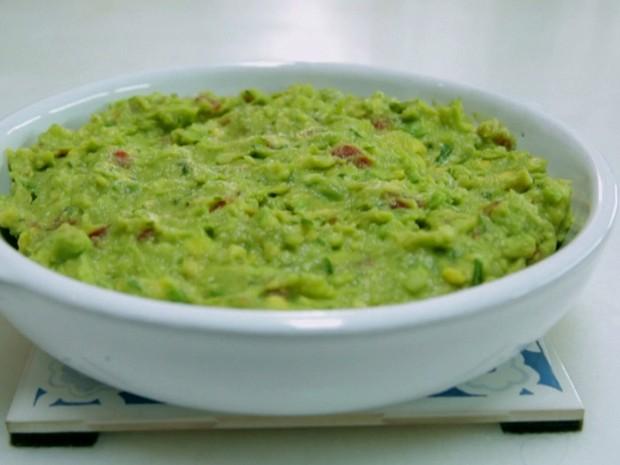 Guacamole com tortilla de milho (Foto: Reproduo/GNT)