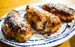 Peito de frango empanado: receita da Carolina Ferraz