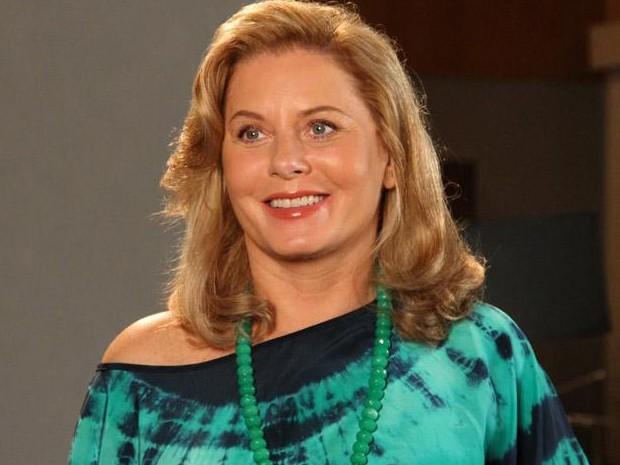 Vera Fischer revela que viver uma vilã será um desafio em sua carreira (Foto: TV Globo/TV Globo)