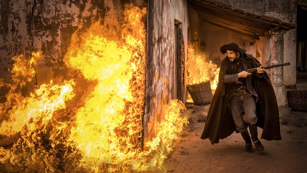 Julio Machado interpreta o jagunço Clemente na novela Velho Chico (Foto: Caiuá Franco/Globo)