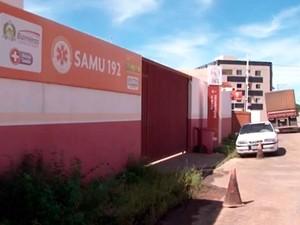 Samu também está sem médicos (Foto: Reprodução/TV Oeste)