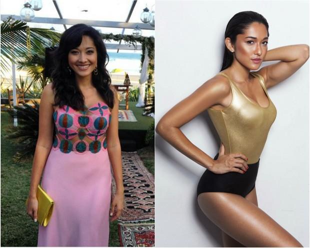 Antes e depois:  atriz Jacqueline Sato revela como perdeu medidas e trocou de manequim  (Foto: Reprodução  )