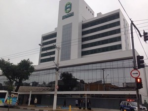 Hospital dos Estivadores, em Santos (Foto: João Paulo de Castro / G1)
